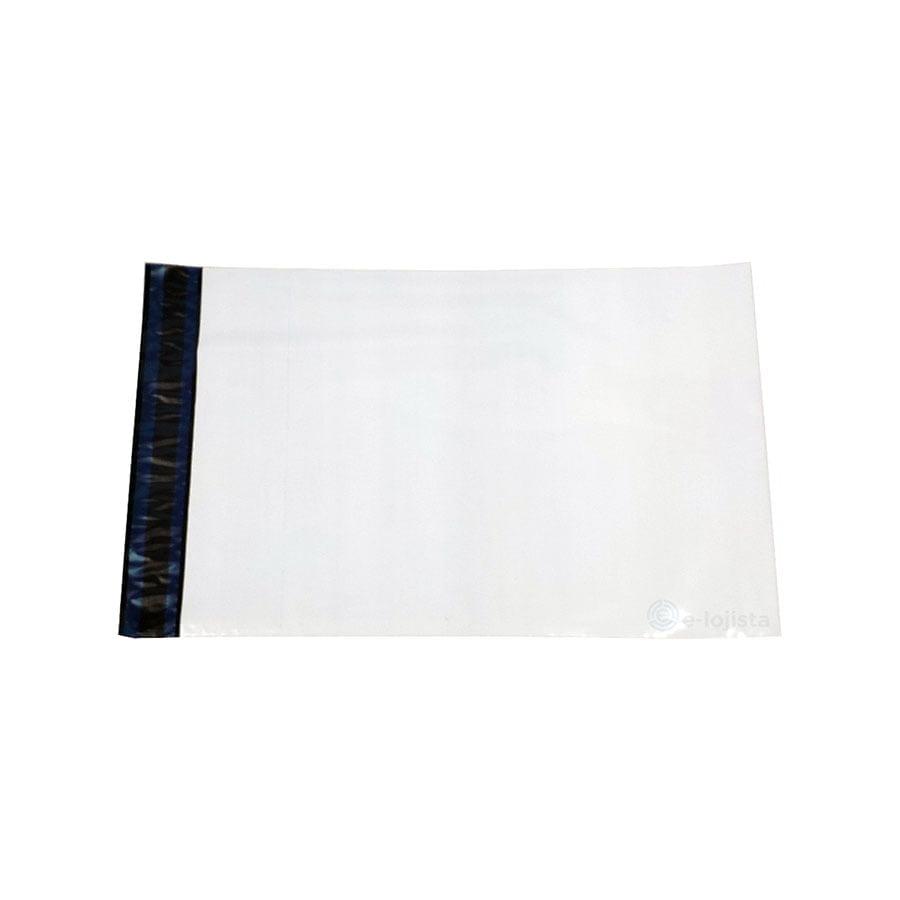 26 x 36 - Envelope plástico de segurança coextrusado com lacre inviolável tipo correios para loja virtual